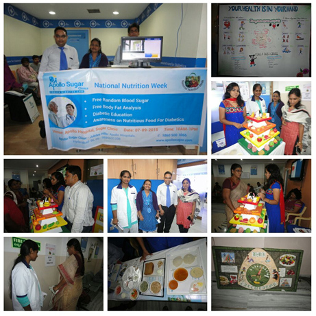 NUTRITION WEEK CELEBRATIONS ACROSS APOLLO SUGAR CLINICS