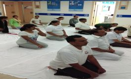 Apollo Sugar's endeavor to make #LivingwithDiabetes Healthy on International Yoga Day at their Road No.36, Jubilee Hills Clinic