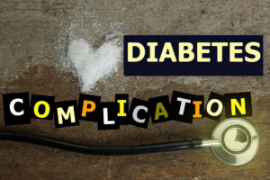 List of diabetes compllications