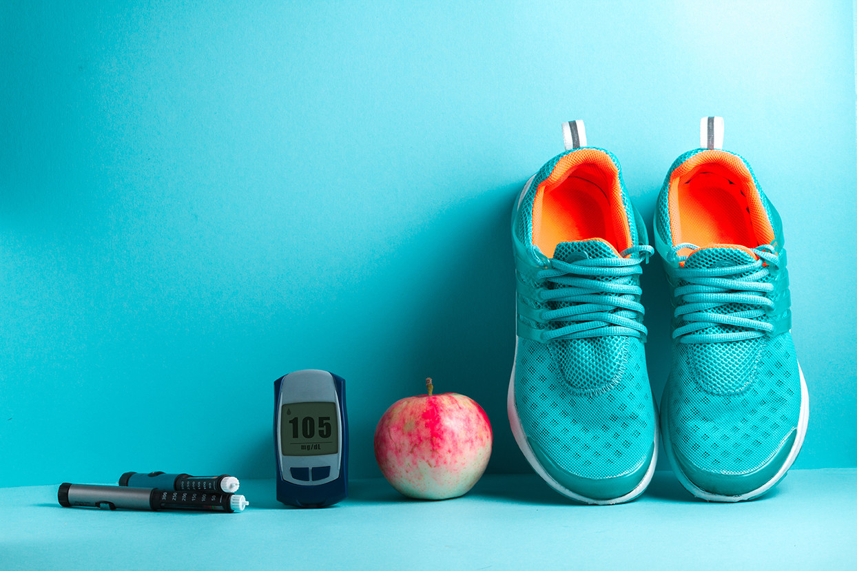 Shoes apple glucometer
