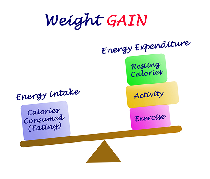 Energy balance and weight loss
