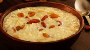 Nutritional Value in sweets – Kheer