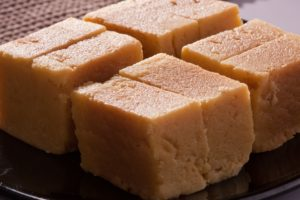 Nutritional value in sweets – Mysore Pak
