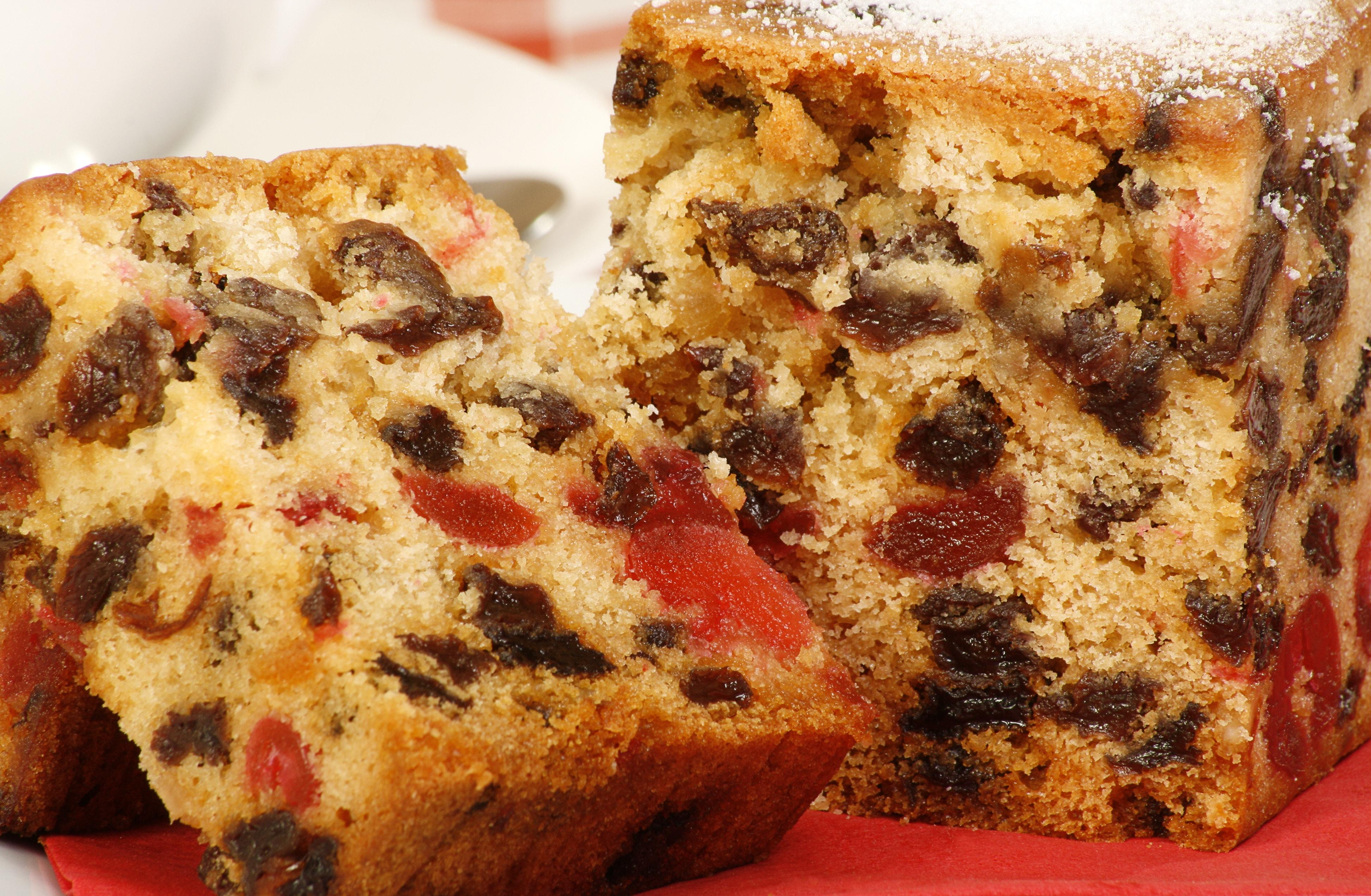Nutritional value in sweets -Fruit cake