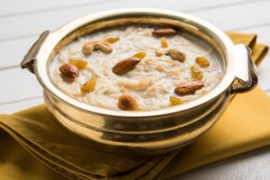 Nutritional value in sweets - Vermicelli kheer