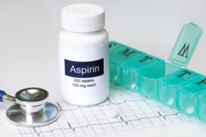 benefits of low-dose aspirin in diabetes