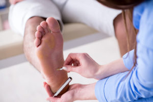 Diagnosis of diabetic neuropathy