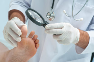 Diagnosis of diabetic foot ulcer