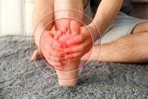 Symptoms of Diabetic foot