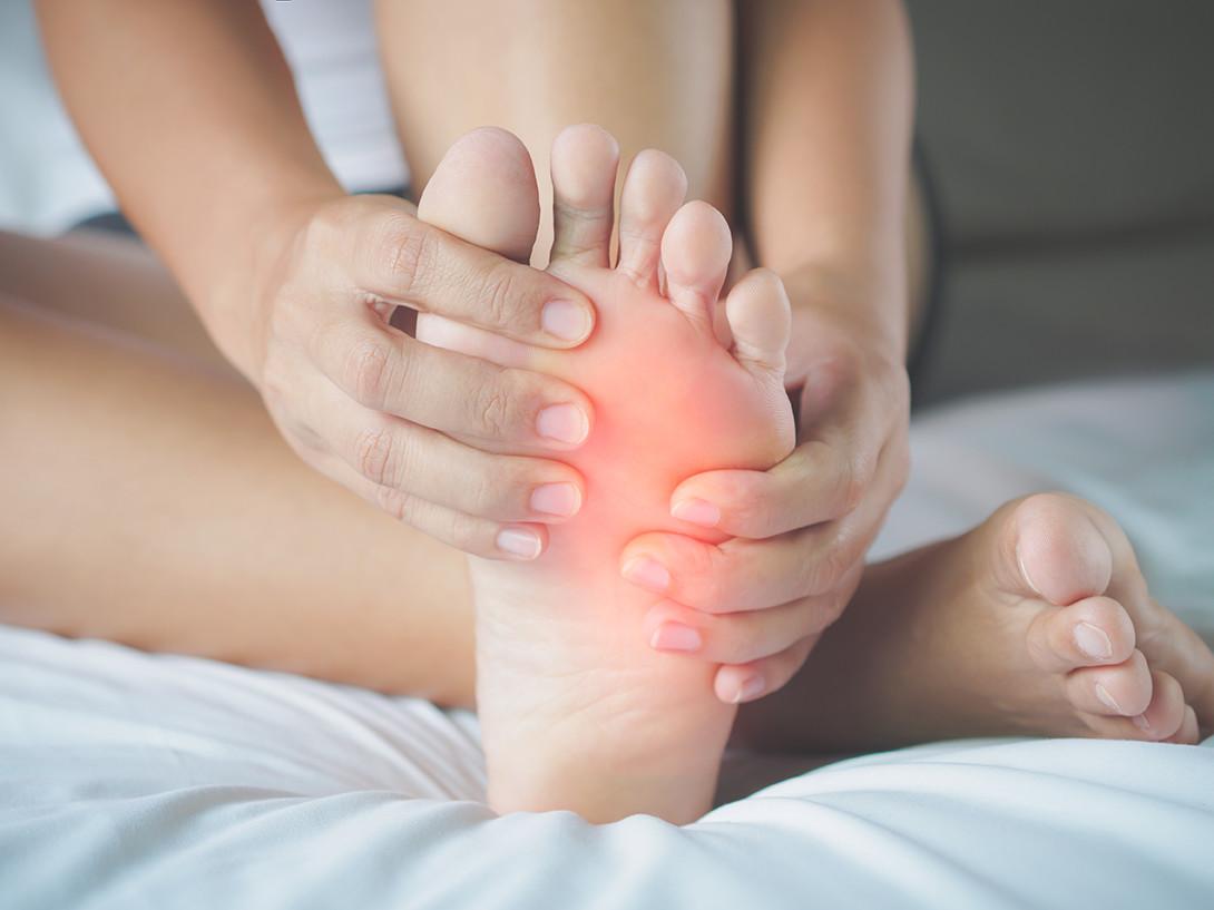 Diagnosis of foot calluses in diabetes